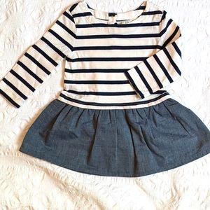 BABY GAP 2-tone Dress 12-18M